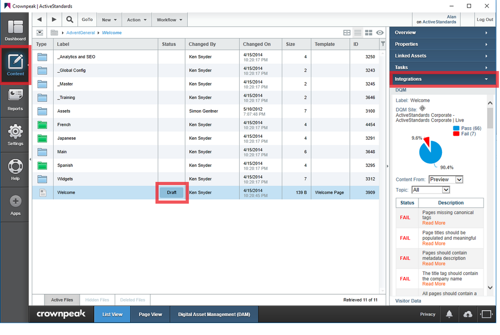 4 See DQM integration by viewing a page in DXM.png