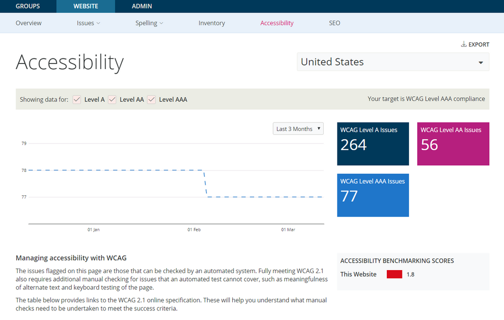 Accessibility Page
